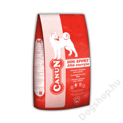 Canun Basic Dog sport 20kg