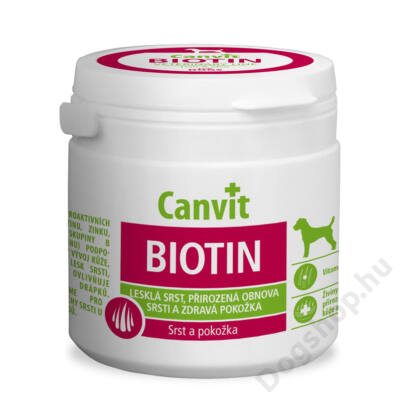 Canvit  kutyáknak Biotin 100 g