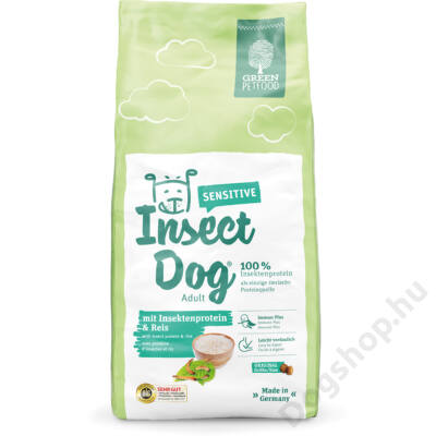 GREEN PETFOOD InsectDog Sensitive 15kg