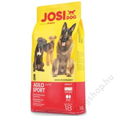 JosiDog Agilo Sport 26/16 2 db 18kg