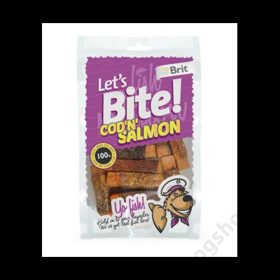 Brit Lets Bite Cod'n'Salmon 80 g