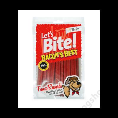 Brit Lets Bite Bacon's Best 105 g