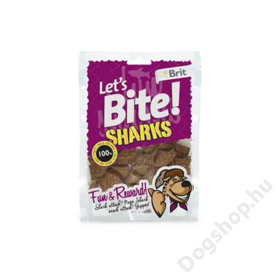 Brit Lets Bite Sharks 150 g