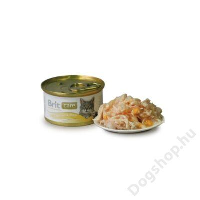 Brit Care Macska konzerv Chicken Breast & Cheese 80g