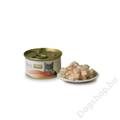 Brit Care Macska konzerv Chicken Breast 80g