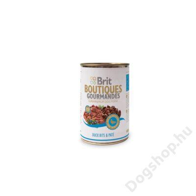 Brit Care Boutiqoes Gourmandes Konzerv Bits&paté Duck 400g