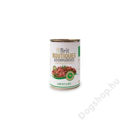 Brit Care Boutiqoes Gourmandes Konzerv Bits&paté Lamb 400g
