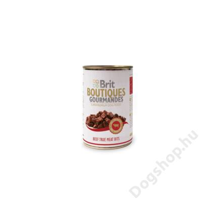 Brit Care Boutiqoes Gourmandes Konzerv True Meat Bits Beef 400g
