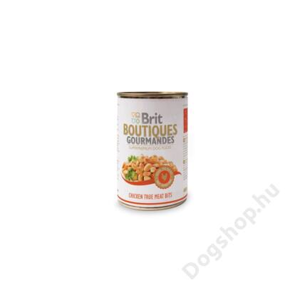 Brit Care Boutiqoes Gourmandes Konzerv True Meat Bits Chicken 400g
