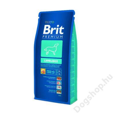 Brit Premium Lamb & Rice 15kg