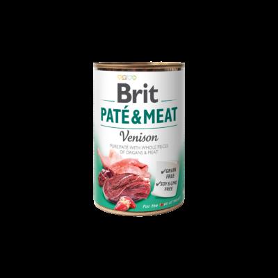 Brit Paté & Meat Venison 400 g