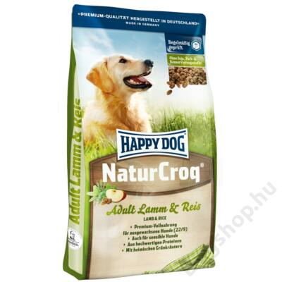 Happy Dog Natur-Croq Lamm/Reis (Bárány & Rízs) 15 Kg