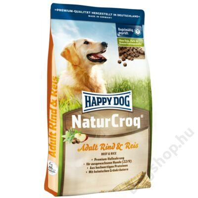 Happy Dog  Natur-Croq Rind & Reis (Marha & Rizs) 15 Kg