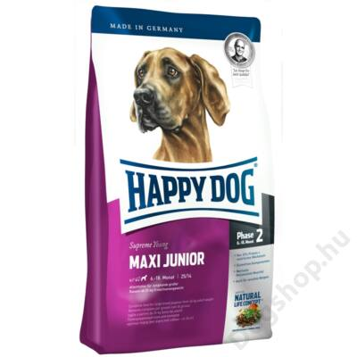 Happy Dog Supreme  Maxi Junior Gr 25 4 Kg