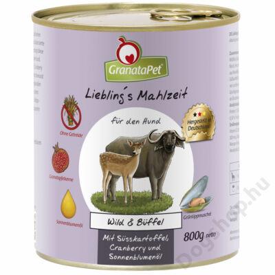 GranataPet Liebling´s Mahlzeit vad és bivaly konzerv