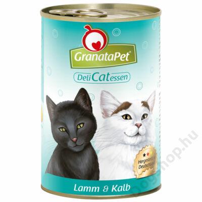 GranataPet Cat DeliCatEssen bárány és borjú konzerv