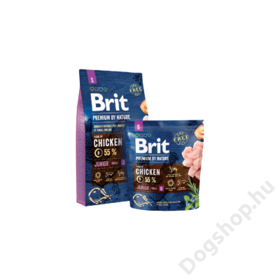 Brit Premium by Nature Small Junior 1kg