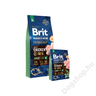 Brit Premium by Nature Extra Large Junior 15kg