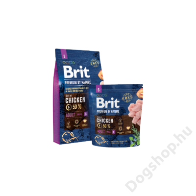 Brit Premium by Nature Small Adult 1kg