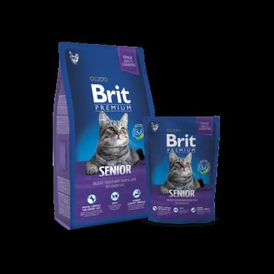 Brit Premium Cat Senior 1,5 kg