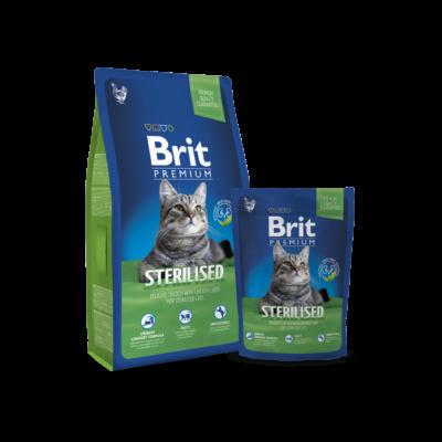 Brit Premium Cat Sterilised 0,8kg