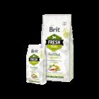 Brit Fresh Duck with Millet Active Run & Work 2,5 kg
