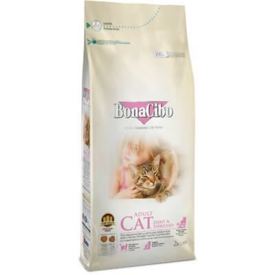 BONACIBO CAT (Light_and_Sterilized - Chicken) 5 kg