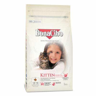 BONACIBO KITTEN (Csirke, szardella, rák és rizs) 1,5 kg