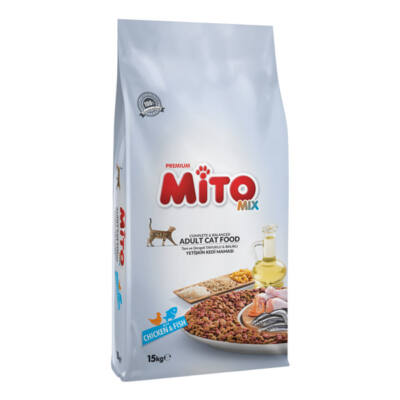 MITO MIX COLOR CAT (Chicken _and_ Vegs) 15 kg