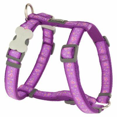 Red Dingo Butterfly Purple XS Dog hám