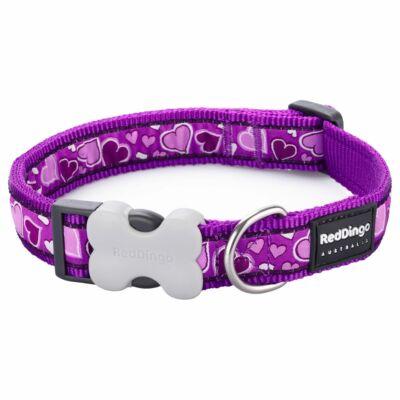 Red Dingo Breezy Love Purple Medium kutya nyakörv
