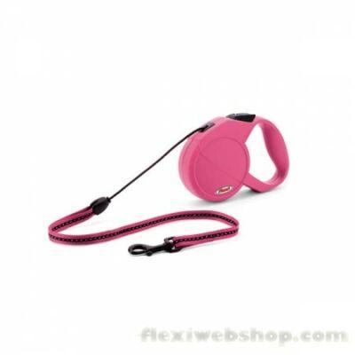 Flexi New Classic zsinór M 8m 20kg-ig pink