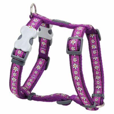 Red Dingo Daisy Chain Purple Medium Dog hám
