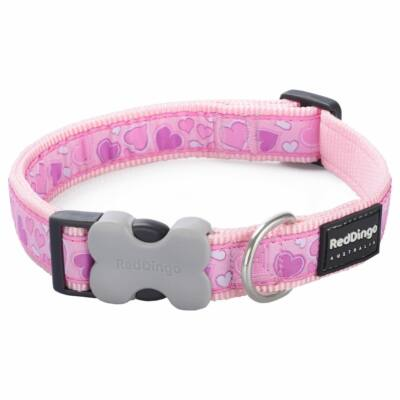 Red Dingo Breezy Love Pink XS kutya nyakörv