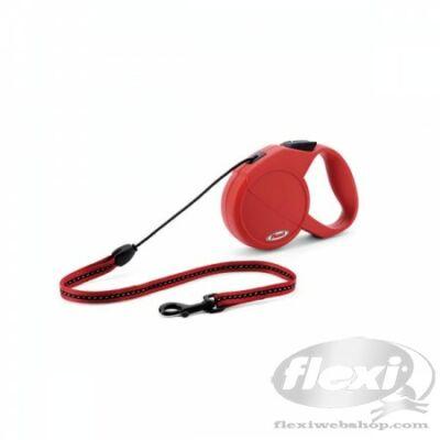 Flexi New Classic zsinór S 8m 12kg-ig piros