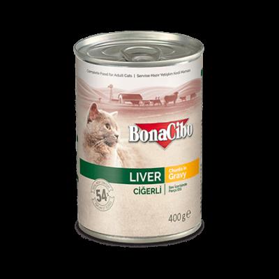 BONACIBO CANNED CAT FOODS LIVER 400g