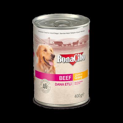 BONACIBO CANNED DOG FOODS BEEF 400g