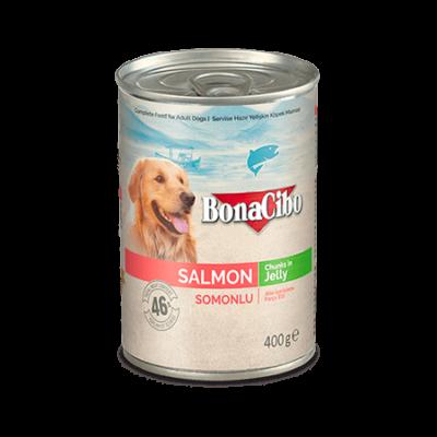 BONACIBO CANNED DOG FOODS SALMON 400g
