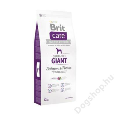 Brit Care Grain-free Giant Salmon & Potato 3 kg