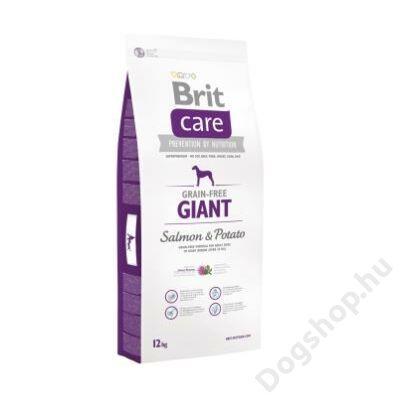 Brit Care Grain-free Giant Salmon & Potato 12 kg 2db