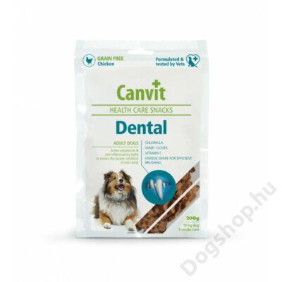 Canvit Jutalomfalat Kutyáknak Dental 200 G