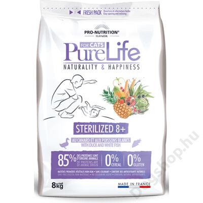 Flatazor Pure Life Chat Sterilized 8+ 0,4kg