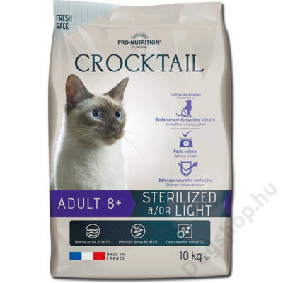 Flatazor Crocktail Adulte 8+ Sterilized and/or light 10kg