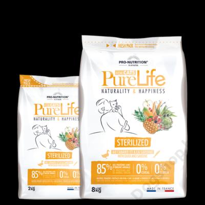 Flatazor Pure Life Chat Sterilized 8kg