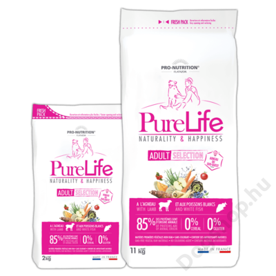 Flatazor Pure Life Adult Selection Lamb&Rice 11kg