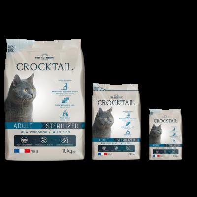 Flatazor Crocktail Adulte Sterilized with Fish 0,4kg