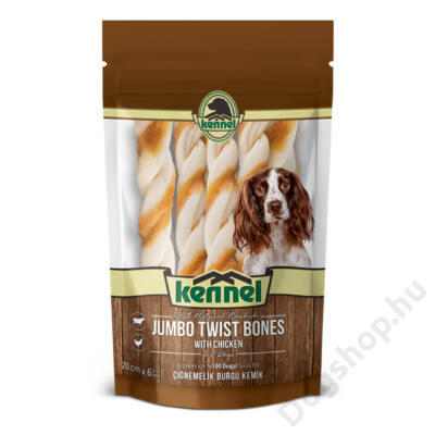 KENNEL CHEWING BONES JUMBO TWIST 195g