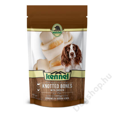 KENNEL CHEWING BONES KNOTTED BONES 195g