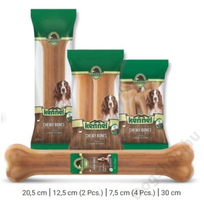 KENNEL CHEWING BONES NATURAL CHEWY BONES 30 CM (1db) 100g