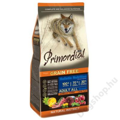 Primordial Grain Free Adult Bárány és Tonhal 2kg